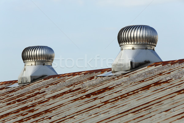 Roof ventilation Stock photo © smuay