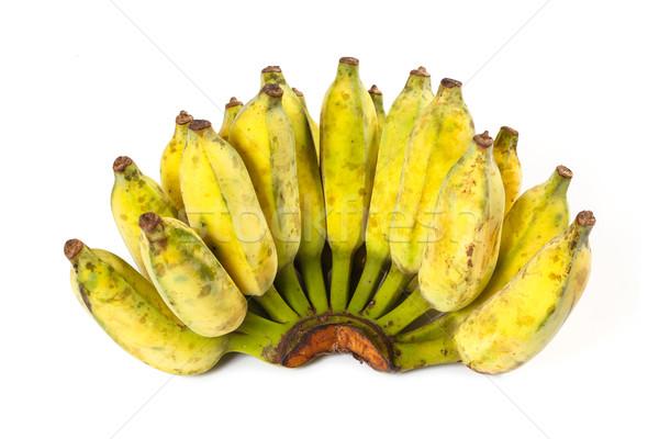 Maduro cultivado banana dourado cor Foto stock © smuay