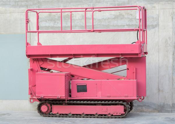 Lift hernyó kerék üzlet épület szerszámok Stock fotó © smuay
