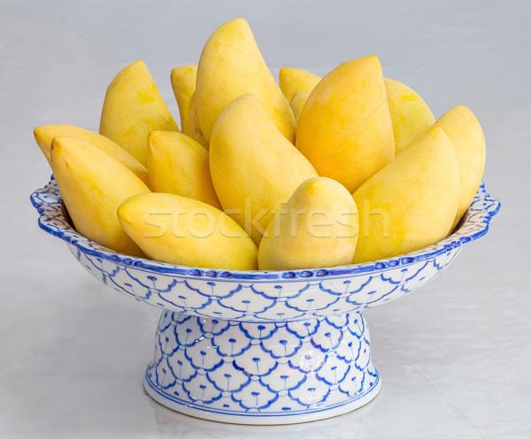 Thai ripe mango Stock photo © smuay
