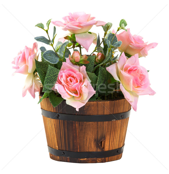 Bouquet of roses Stock photo © smuay