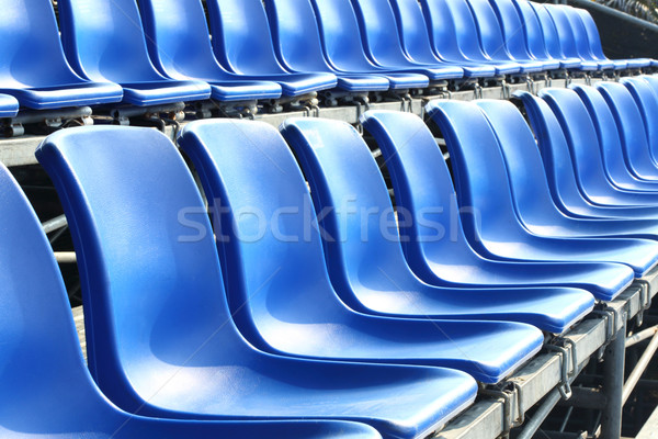 Temporary grand seat Stock photo © smuay