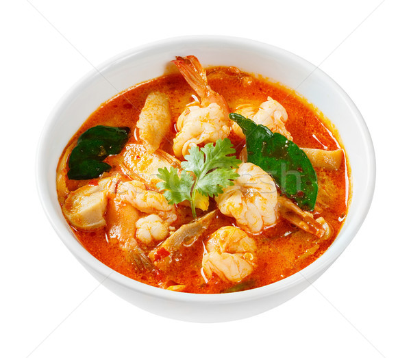 Tom yam koong Stock photo © smuay