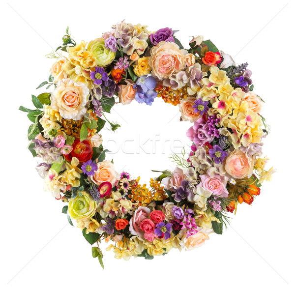 Elegance flower Garland - Artificial Stock photo © smuay