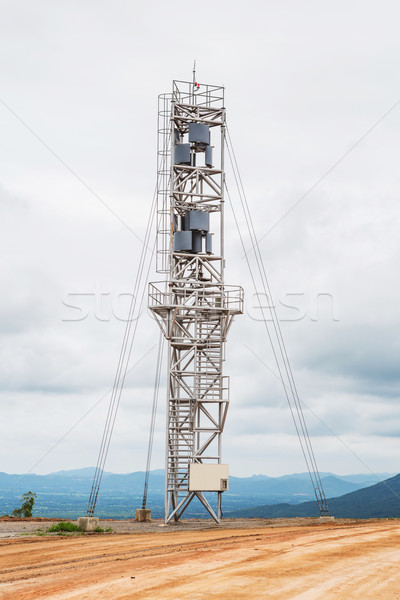Vertical axis wind turbine Stock photo © smuay