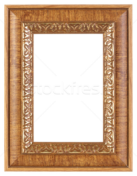 Photo frame with clipping path  Stock photo © smuay
