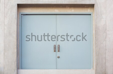 Fireproof door Stock photo © smuay
