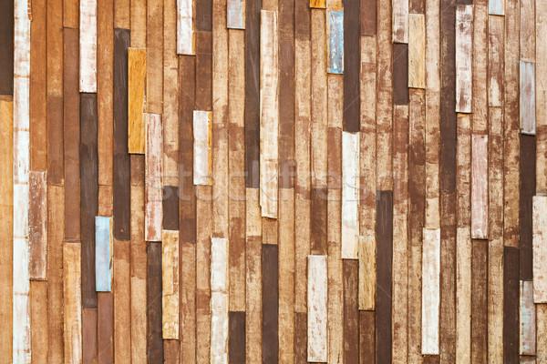 Old wood background Stock photo © smuay