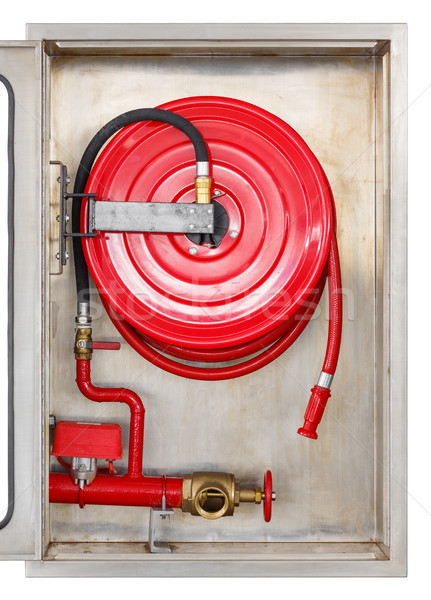 Fire extinguisher cabinet Stock photo © smuay