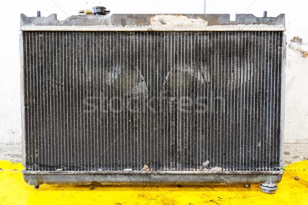 Leaky car radiator Stock photo © smuay