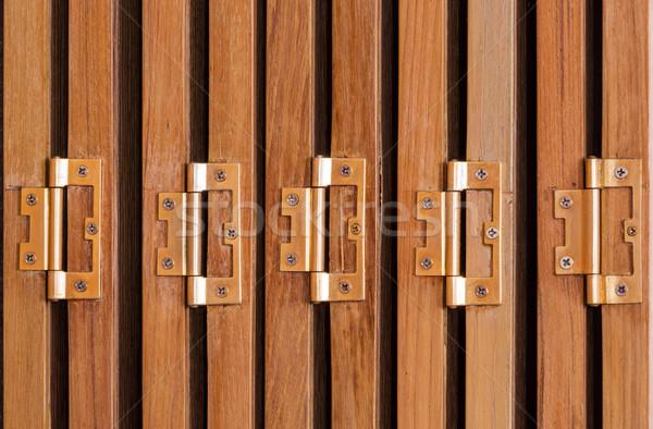 Ajtó ajtók klasszikus stílus ház textúra Stock fotó © smuay