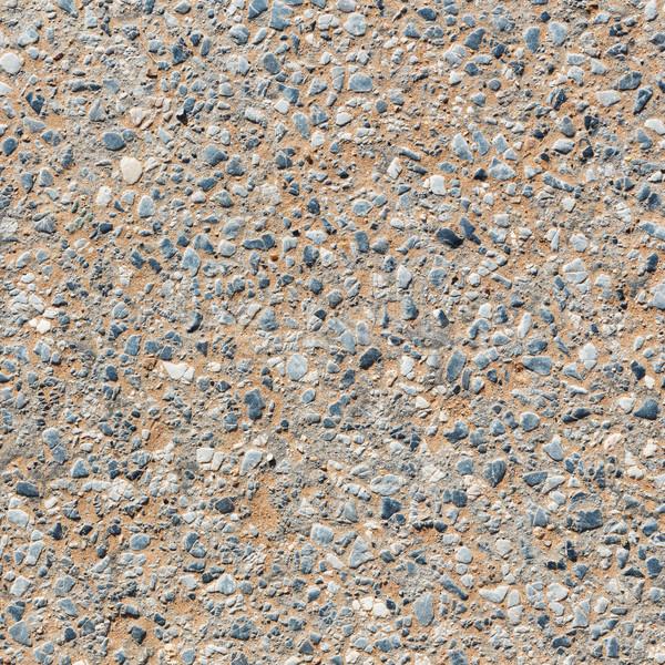 Kamień ulicy tekstury szary kolor szorstki Zdjęcia stock © smuay
