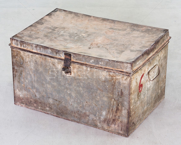Antique chest Stock photo © smuay