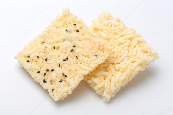 Thai rice cracker Stock photo © smuay