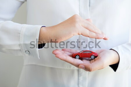 Voiture automobile assurance collision dommage concepts Photo stock © snowing