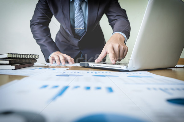 作業 プロセス スタートアップ ビジネスマン 新しい 金融 ストックフォト © snowing