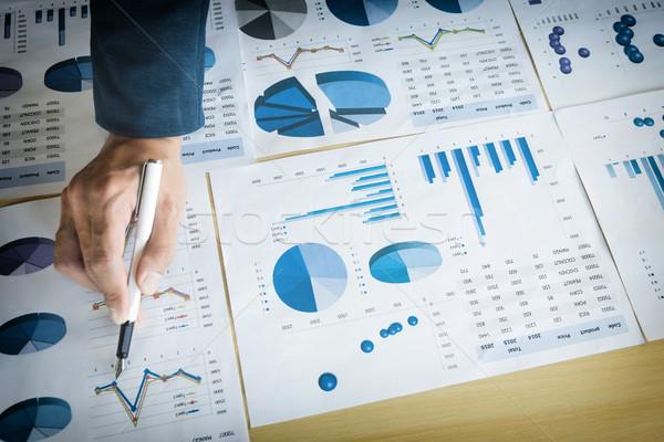 Photo stock: Processus · jeunes · affaires · gestionnaires · équipage