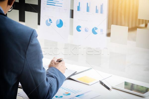 作業 プロセス スタートアップ ビジネスマン 新しい ストックフォト © snowing