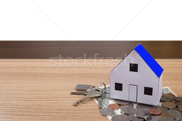 дома домой собственность недвижимости бизнеса Сток-фото © snowing