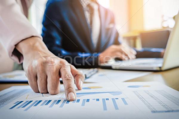ストックフォト: チームワーク · プロセス · 小さな · ビジネス · マネージャー · 乗組員
