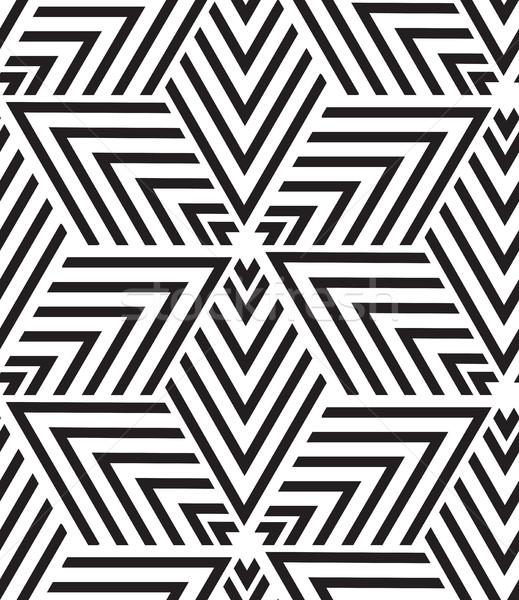 Stok fotoğraf: Vektör · geometrik · modern · üçgen · doku