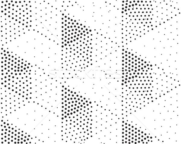 вектора геометрический аннотация черно белые Сток-фото © softulka