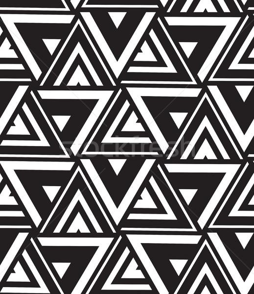 Vettore geometrica moderno triangolo texture Foto d'archivio © softulka