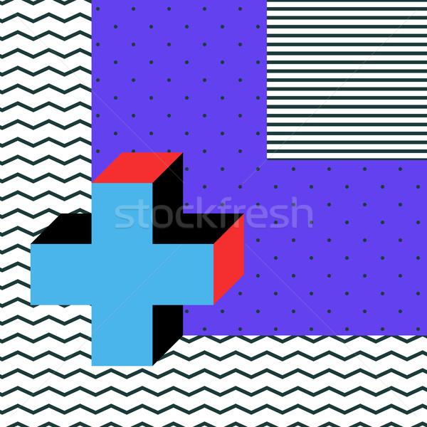 Stile colorato decorativo wallpaper Foto d'archivio © softulka
