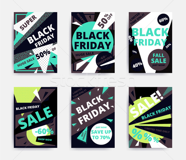 Sale banner template Stock photo © softulka