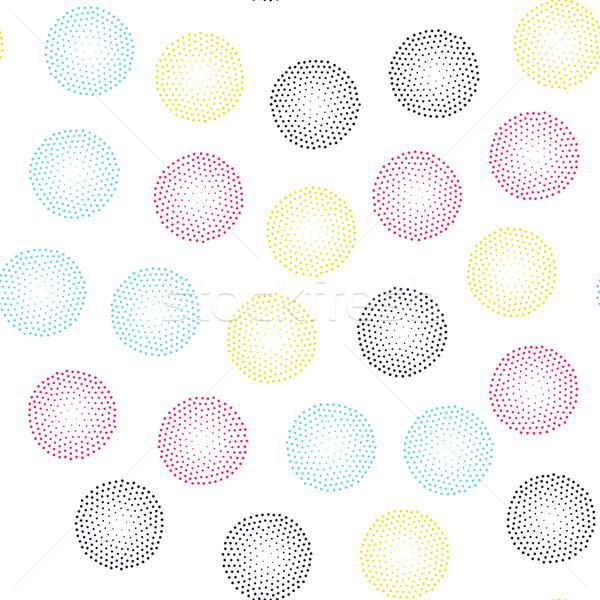 Renk evrensel geometrik stil sonsuz Stok fotoğraf © softulka