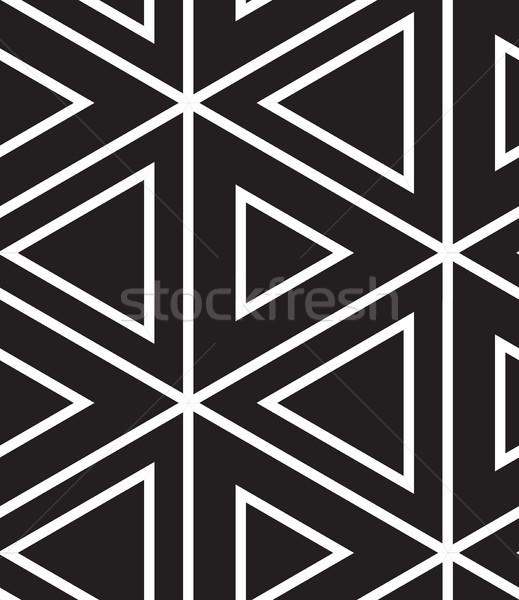 вектора современных линейный геометрический текстуры Сток-фото © softulka