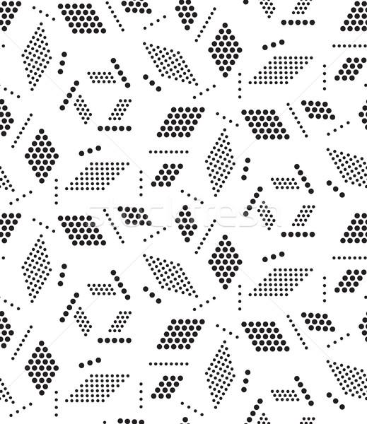 Stok fotoğraf: Vektör · geometrik · modern · daire · doku