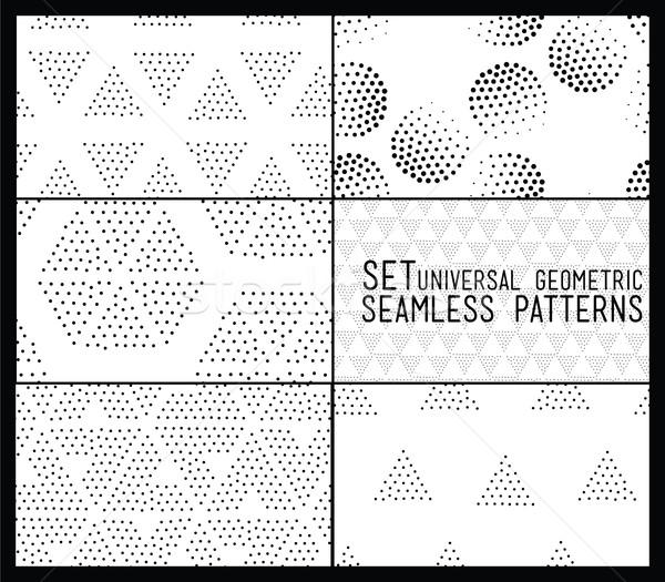 セット ユニバーサル ベクトル 幾何学的な ストックフォト © softulka