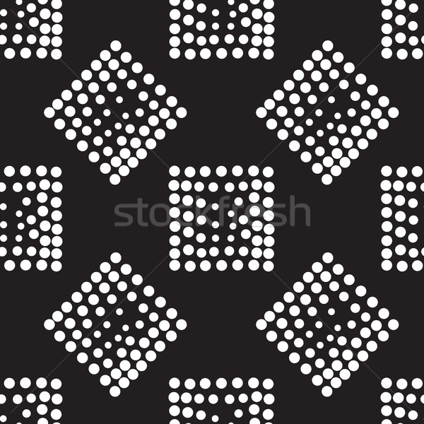 Vektör geometrik soyut kare Stok fotoğraf © softulka