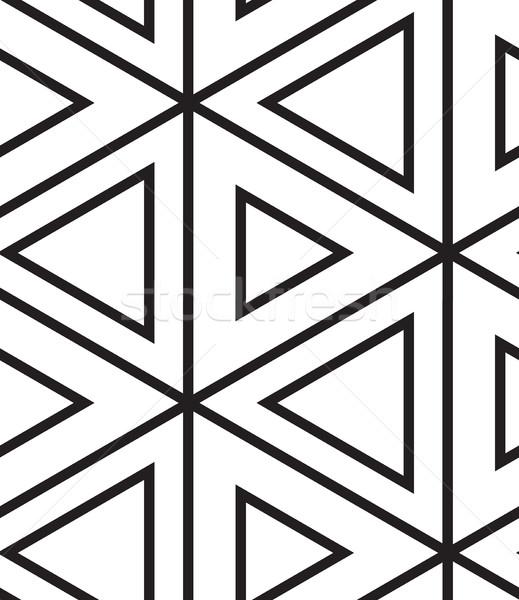 Foto d'archivio: Vettore · moderno · lineare · geometrica · texture