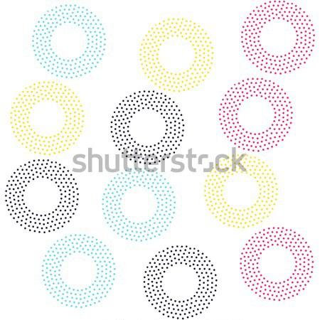 Siyah beyaz evrensel geometrik stil sonsuz Stok fotoğraf © softulka