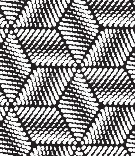 Vektör modern geometrik Stok fotoğraf © softulka