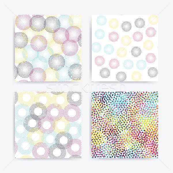 Renk evrensel geometrik ayarlamak stil Stok fotoğraf © softulka