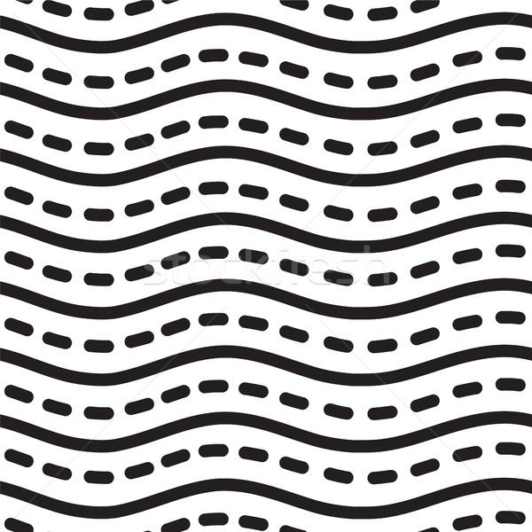 Evrensel doğrusal çizgili dalga soyut Stok fotoğraf © softulka
