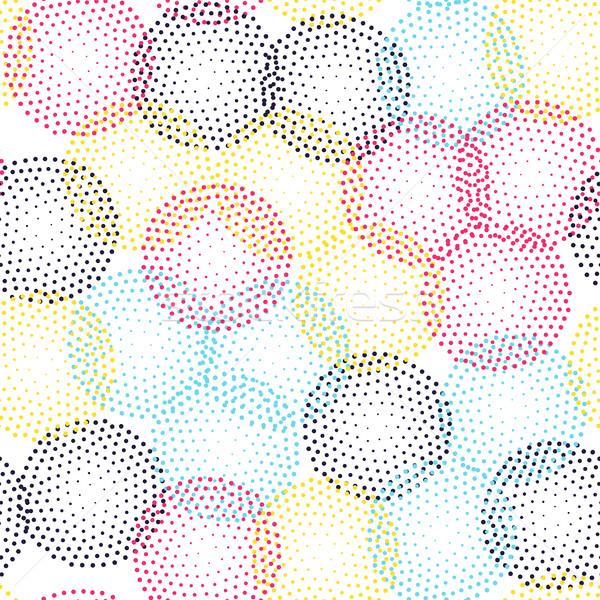 цвета универсальный геометрический стиль бесконечный Сток-фото © softulka