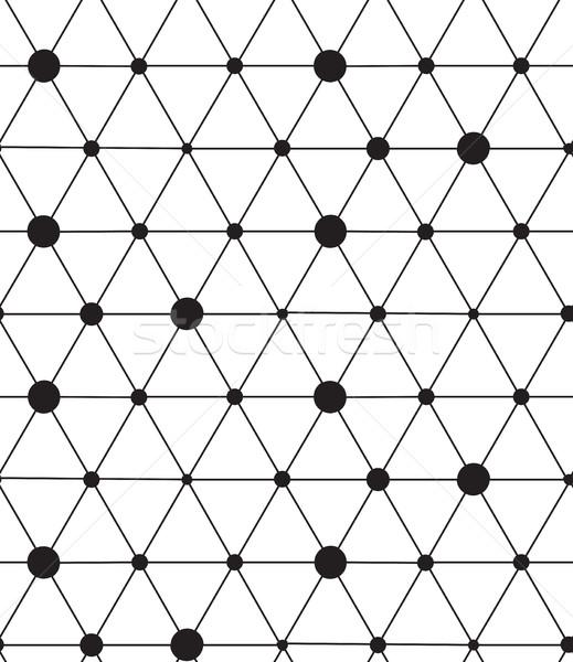 вектора современных линия геометрический текстуры Сток-фото © softulka