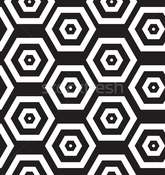 Vector moderne textuur herhalen stijlvol Stockfoto © softulka