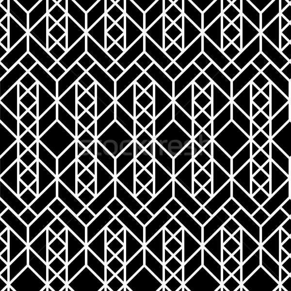 Vector seamless geometric pattern Stock photo © softulka