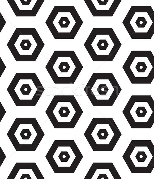 Vector seamless pattern. Modern clasical texture. Repeating geom Stock photo © softulka