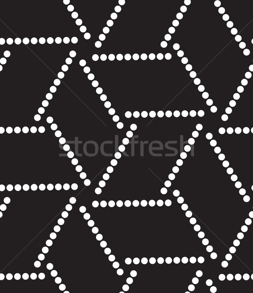 Vector seamless pattern. Modern geometric dots background Stock photo © softulka