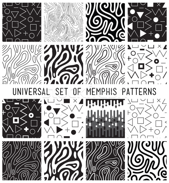 Universal vector lineal geometric seamless pattern Stock photo © softulka