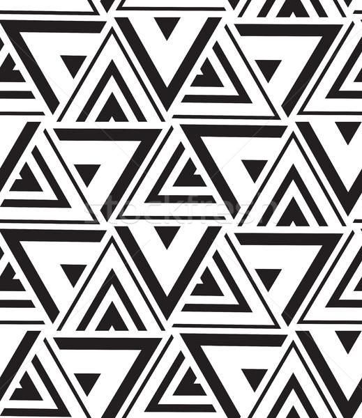 вектора геометрический современных треугольник текстуры Сток-фото © softulka