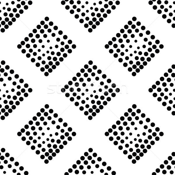 ベクトル 幾何学的な 抽象的な 広場 ストックフォト © softulka