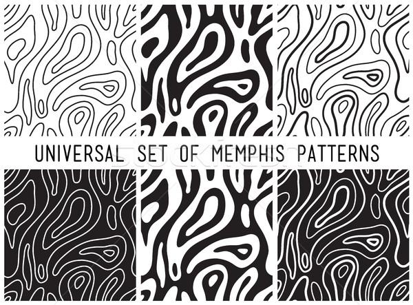 Universal vector lineal geometric seamless pattern Stock photo © softulka