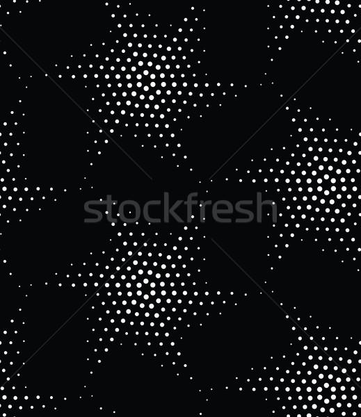 Vetor geométrico abstrato estrelas Foto stock © softulka